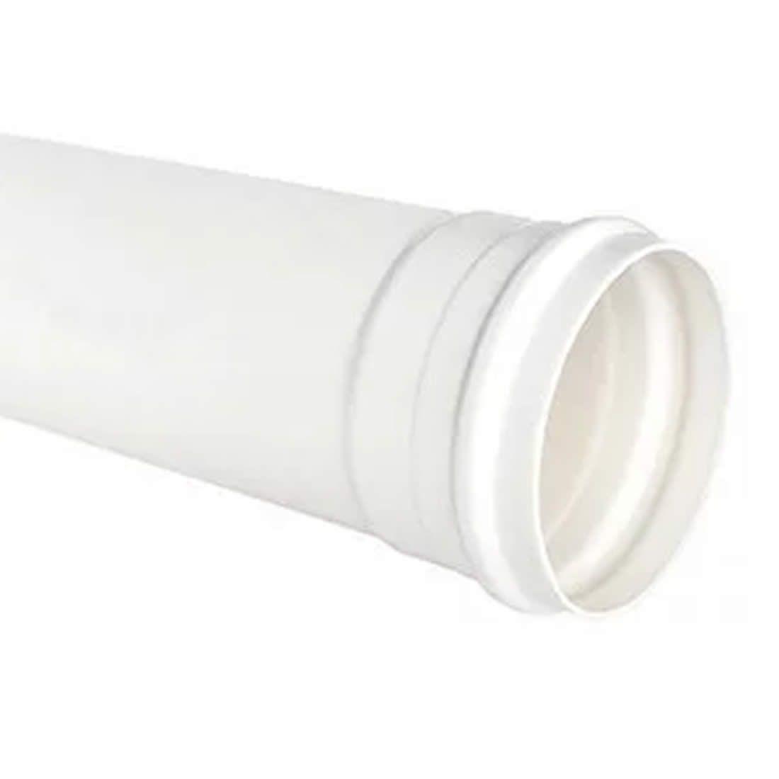 Tubo PVC Para Esgoto 200mm X 6 Metros Tigre