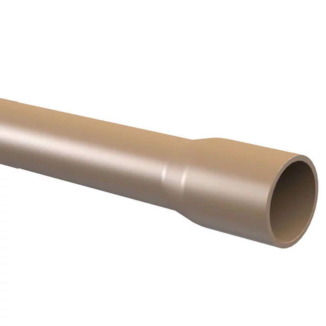 Tubo PVC Soldável 50mm X 6 Metros Tigre
