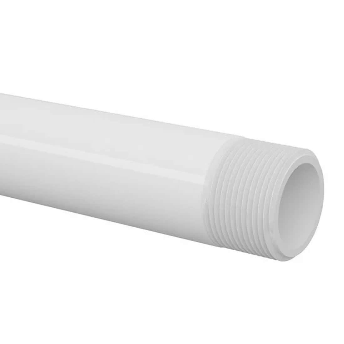 Tubo Roscável Branco 1.1/2'' X 6 Metros Tigre