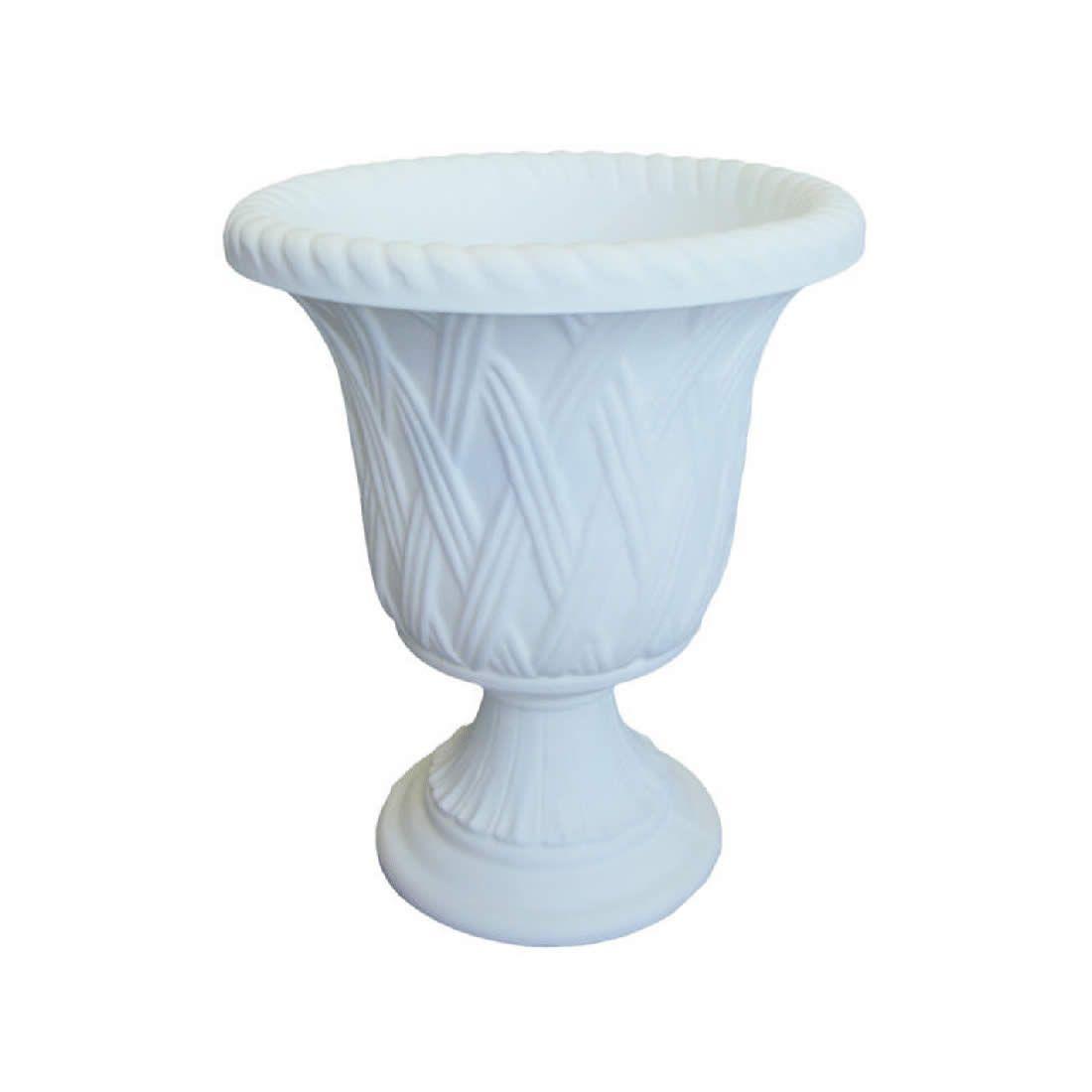 Vaso Para Planta Calice 35 Branco - Japi