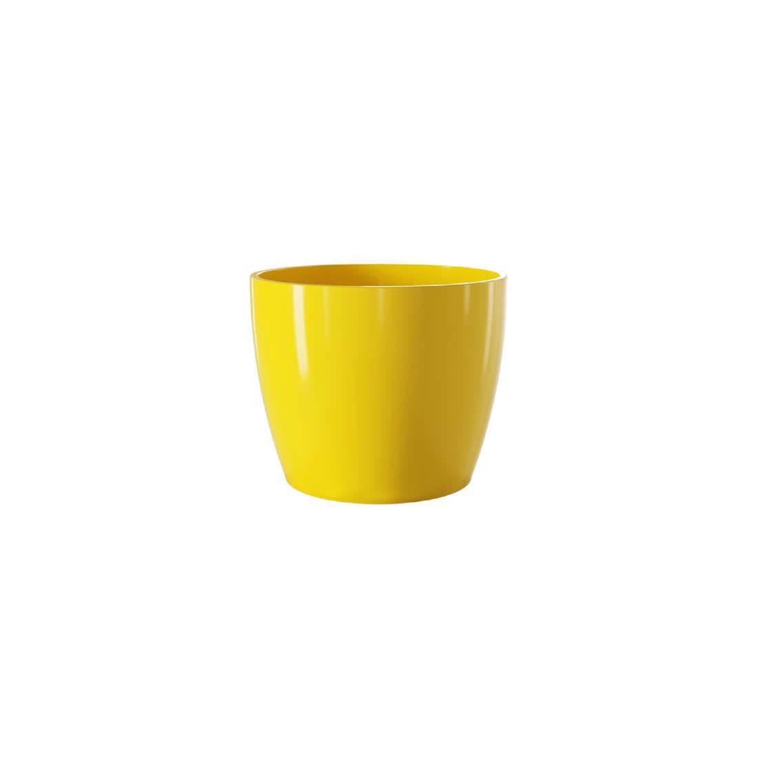 Vaso Para Planta Cerâmico Munique Amarelo 11 - Japi