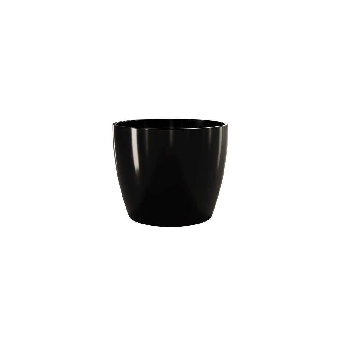 Vaso Para Planta Cerâmico Munique Preto 11 - Japi