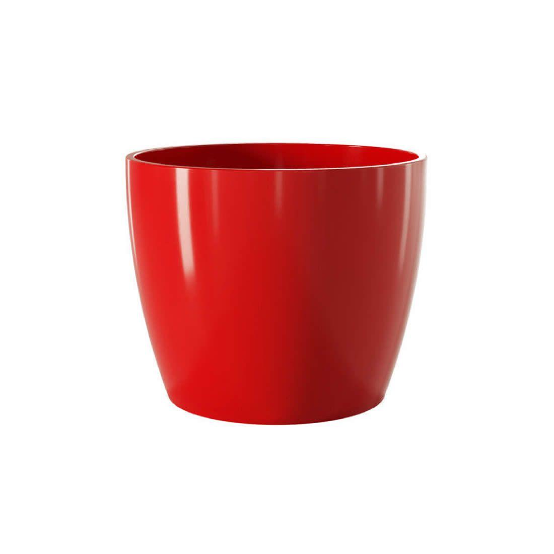 Vaso Para Planta Cerâmico Munique Vermelho 16 - Japi