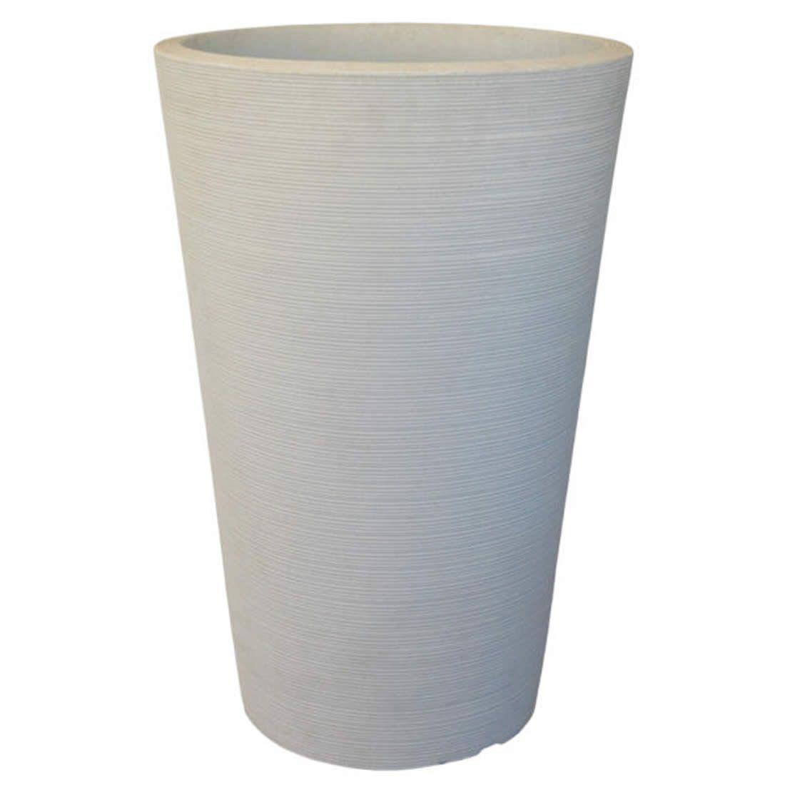 Vaso Para Planta Cônico Linea 50 Cimento - Japi