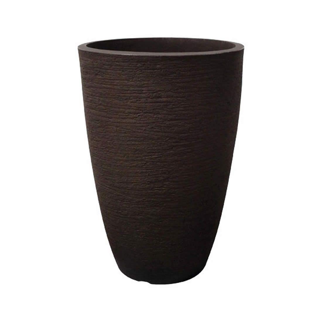 Vaso Para Planta Cônico Moderno 53 Café - Japi