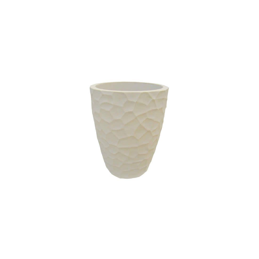 Vaso Para Planta Cônico Prisma 30 Cimento - Japi