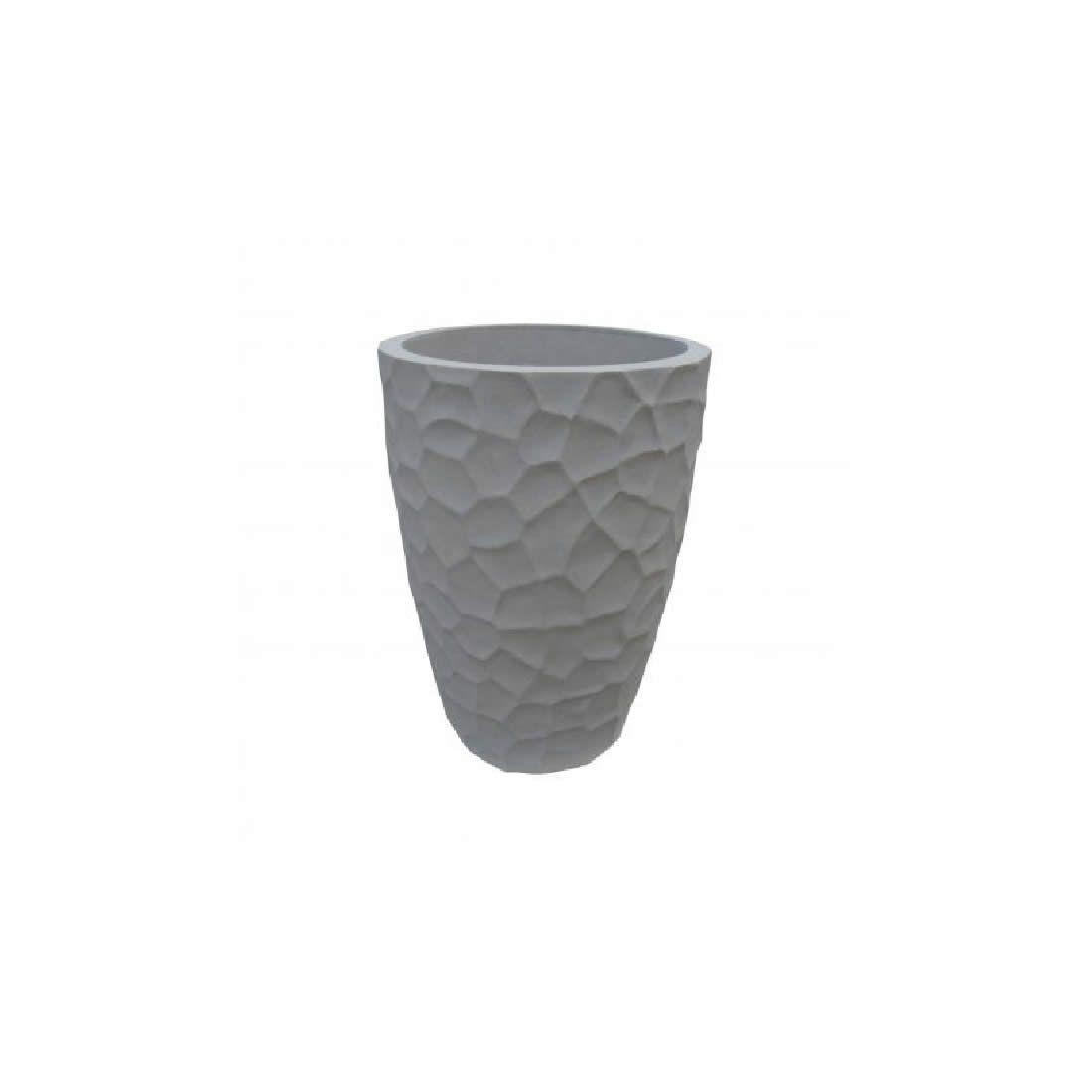 Vaso Para Planta Cônico Prisma 30 Marmore - Japi