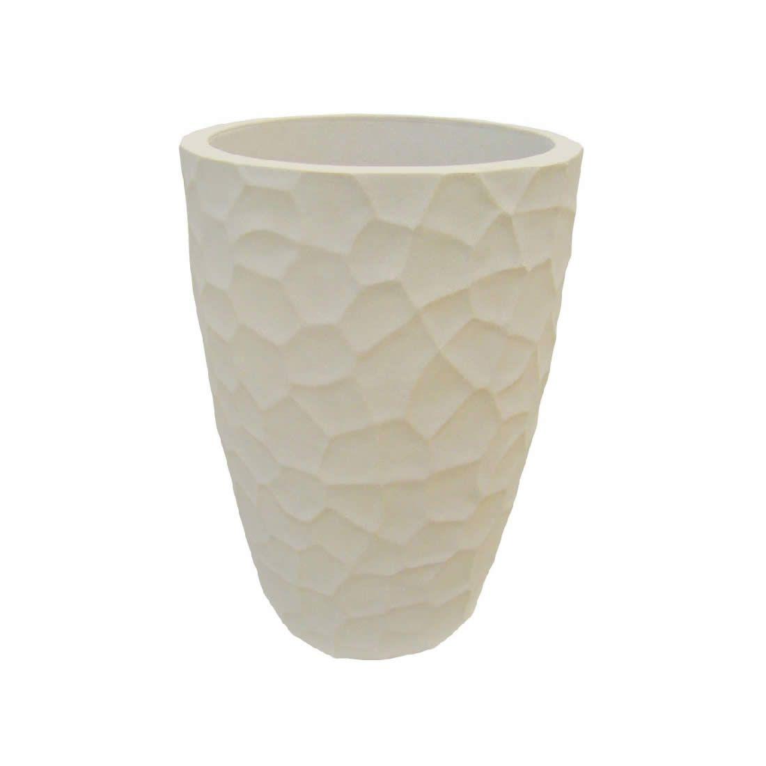 Vaso Para Planta Cônico Prisma 53 Cimento - Japi