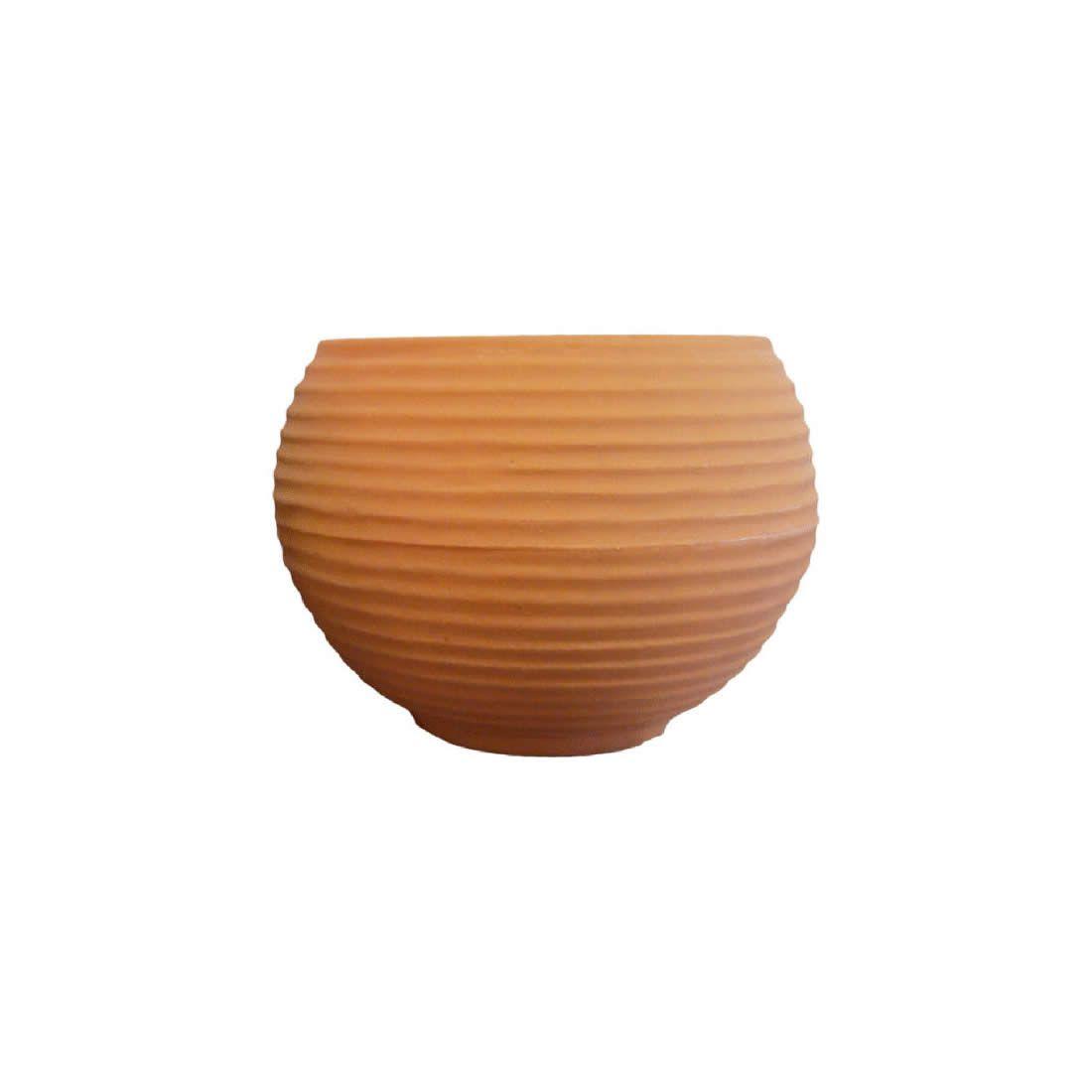 Vaso Para Planta Esfera 34 Terracota - Japi