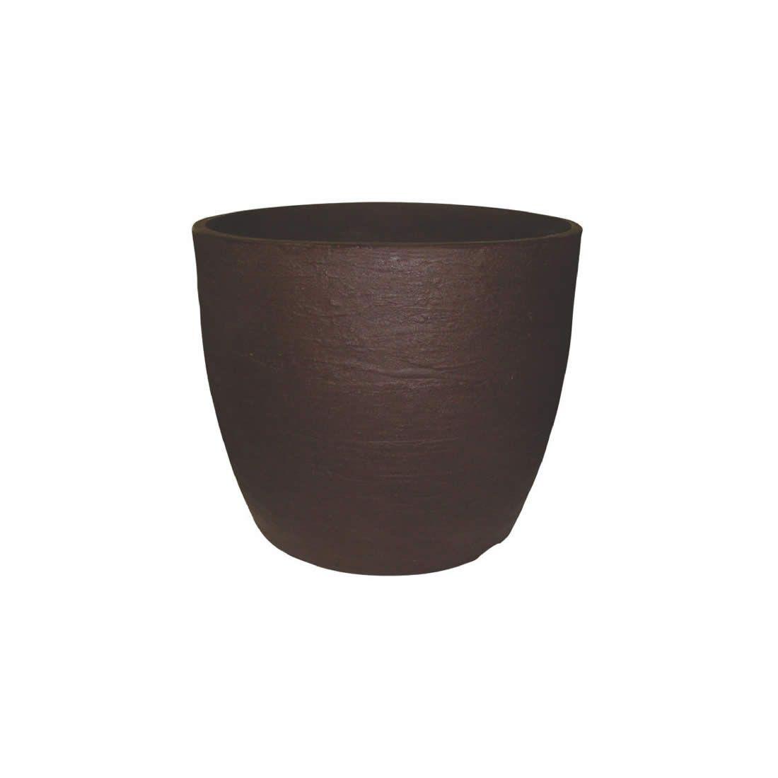 Vaso Para Planta Europa 33 Café - Japi