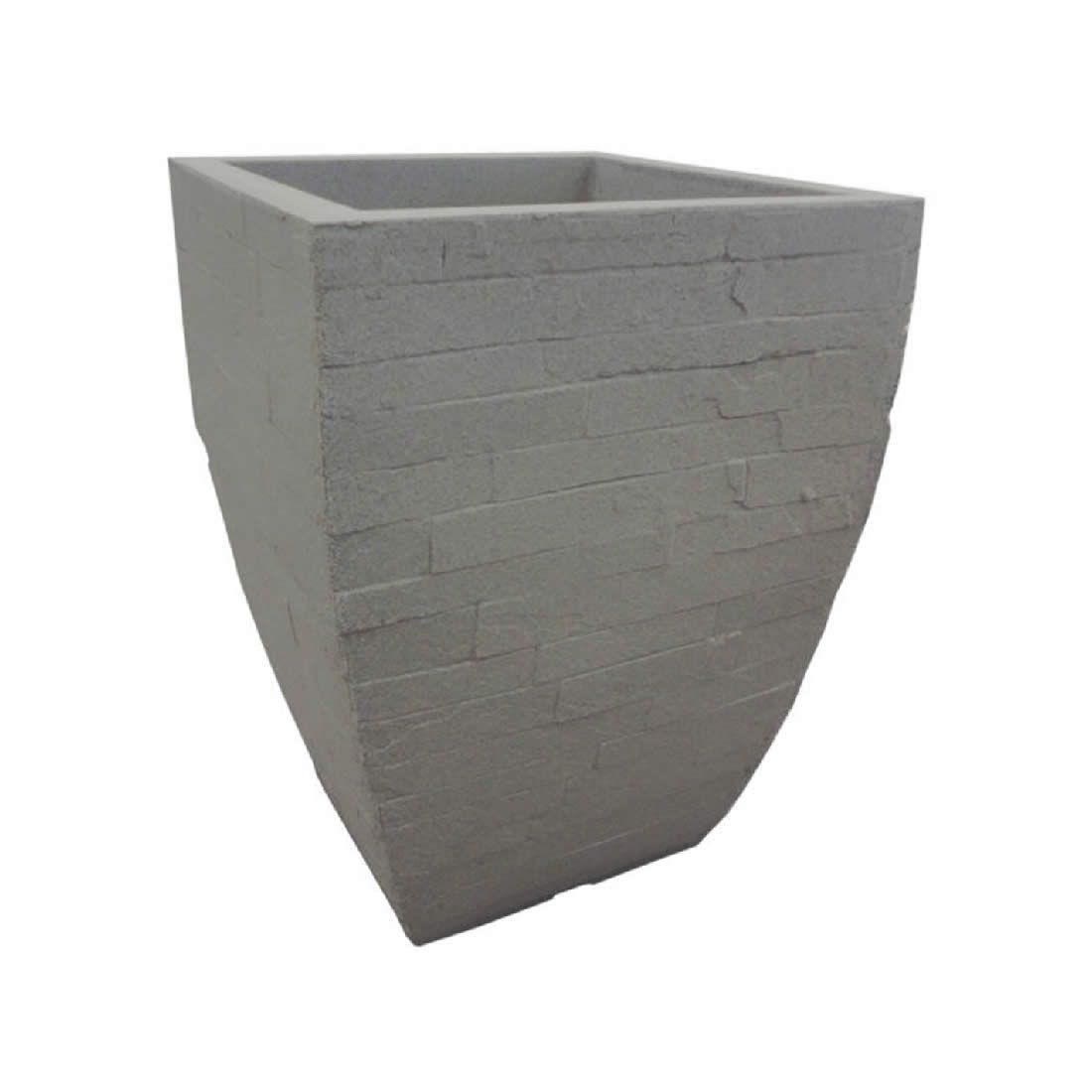 Vaso Para Planta Minas Stone 39 Marmore - Japi