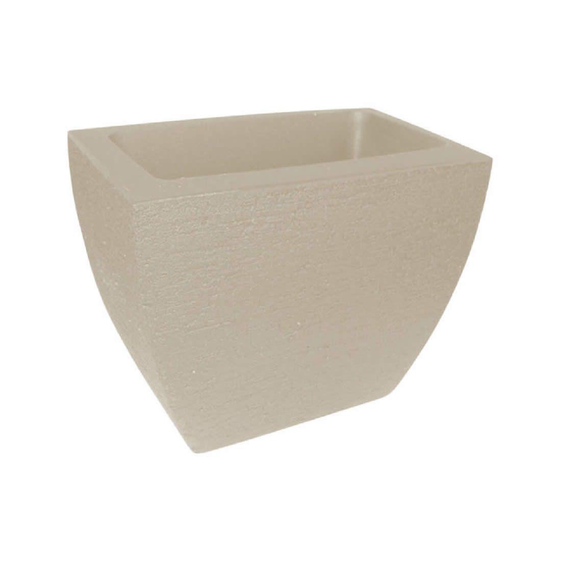 Vaso Para Planta Parece Mod 25 Cimento - Japi
