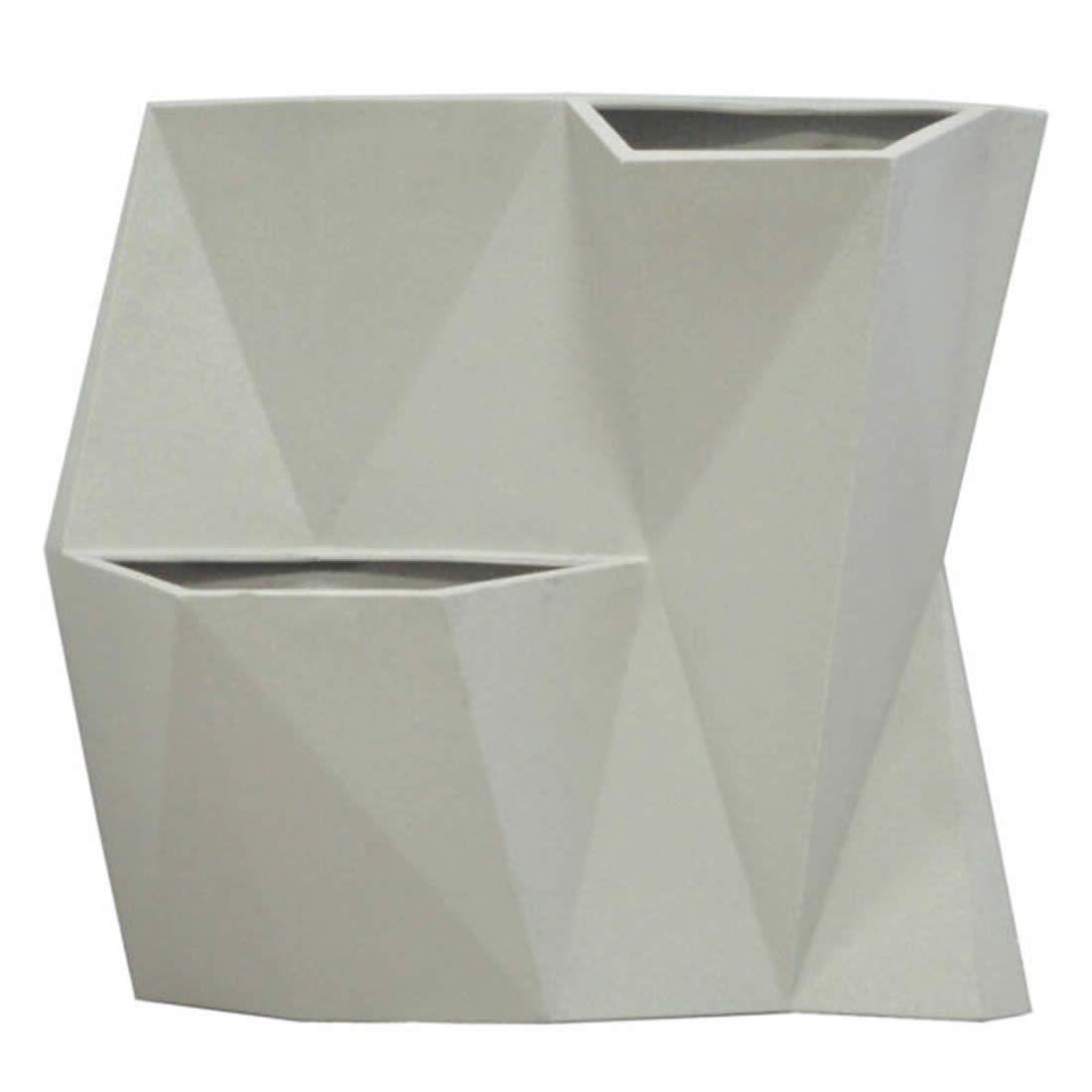 Vaso Para Planta Parede Angolo 50 Cimento - Japi