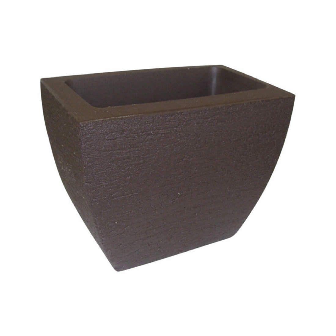 Vaso Para Planta Parede Mod 25 Café - Japi