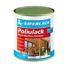 Verniz poliulack acetinado 0,9L Sayerlack