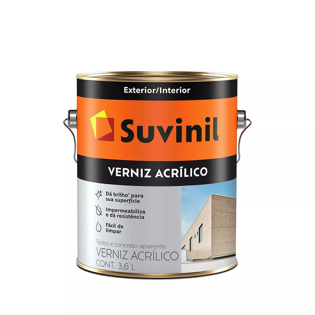 Verniz Suvinil Acrílico 3,6 Litros
