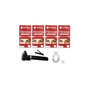 Kit c/ Henna e acessórios para design de Sobrancelha - 6 unid.