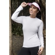 CAMISETA UV PROTECTION FEMININA MANGA LONGA - BRANCO