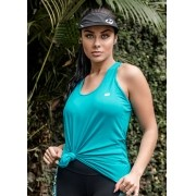 REGATA BATINHA LISA FEMININA JUST FIT - VERDE HAVAÍ