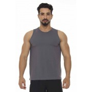 REGATA MASCULINA BASIC JUST FIT - GRAFITE