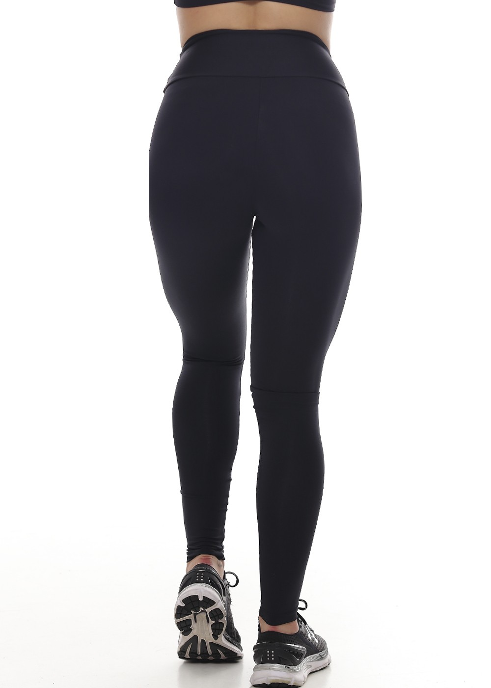 CALÇA LEGGING LISA LIGHT FEMININA JUST FIT - PRETO