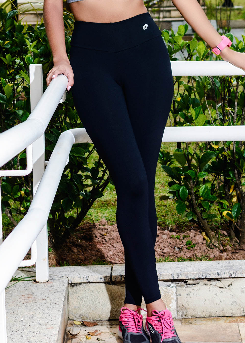 CALÇA LEGGING LISA NEW ZEALAND FEMININA JUST FIT - PRETO