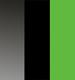 Fumê/Preto/Verde