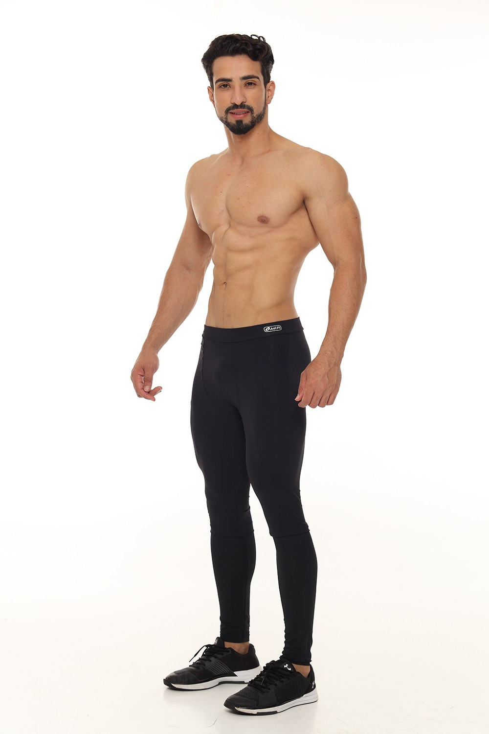 CALÇA LEGGING MASCULINA MAXXI X-RUN JUST FIT - PRETO