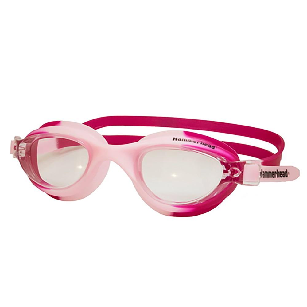 Óculos Natação Phantom Hammerhead - Cristal/Rosa