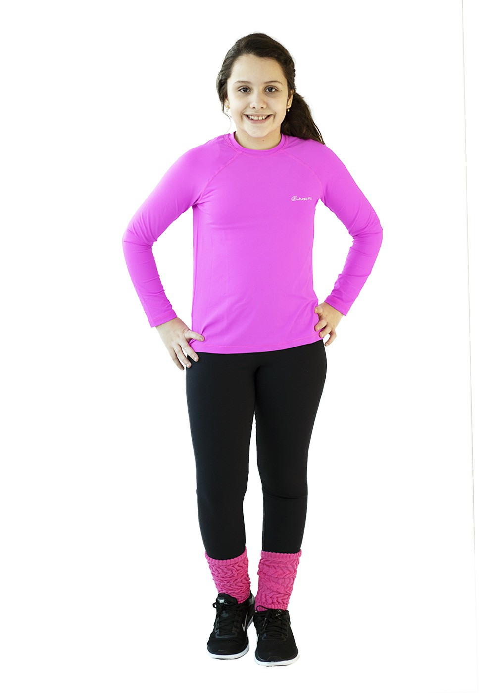 POLAINA INFANTIL JUST FIT - PINK