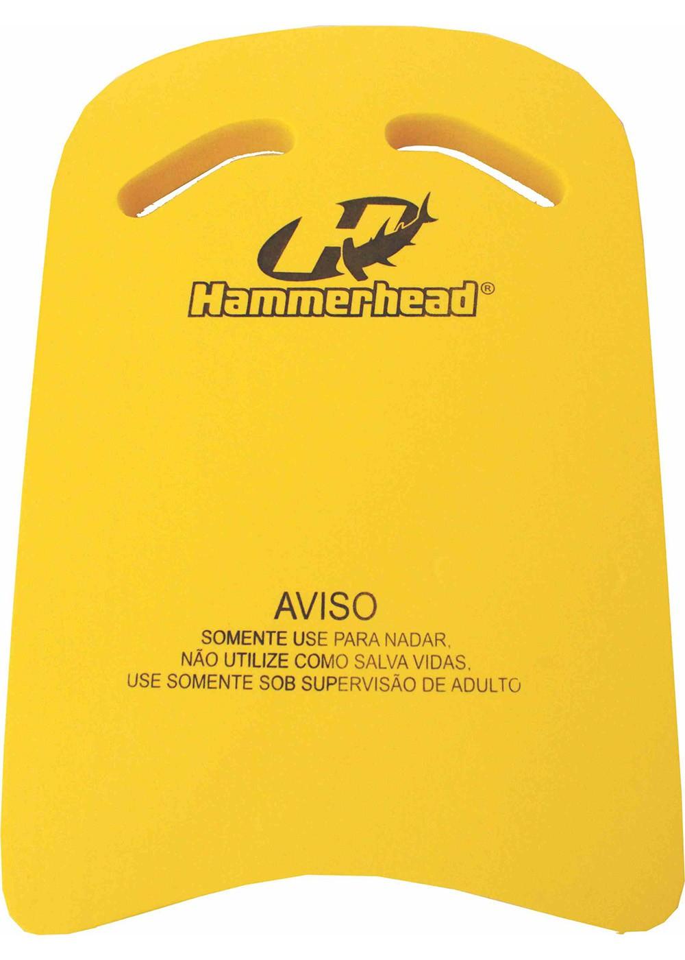 PRANCHA DE NATAÇÃO HAMMERHEAD - G - AMARELO
