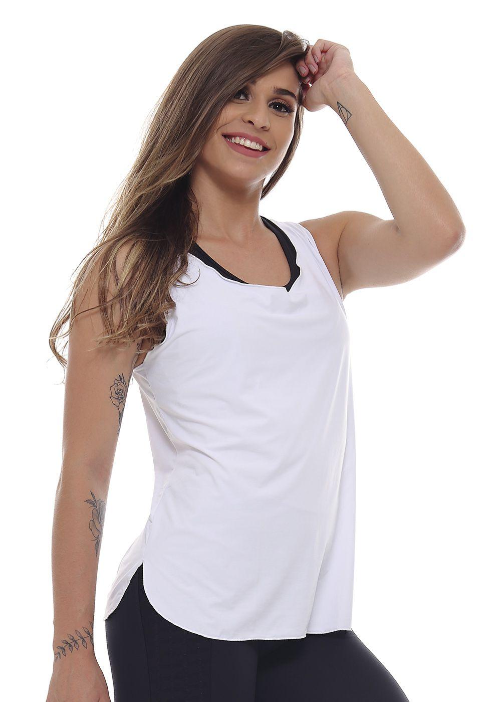 REGATA FEMININA RECORTE