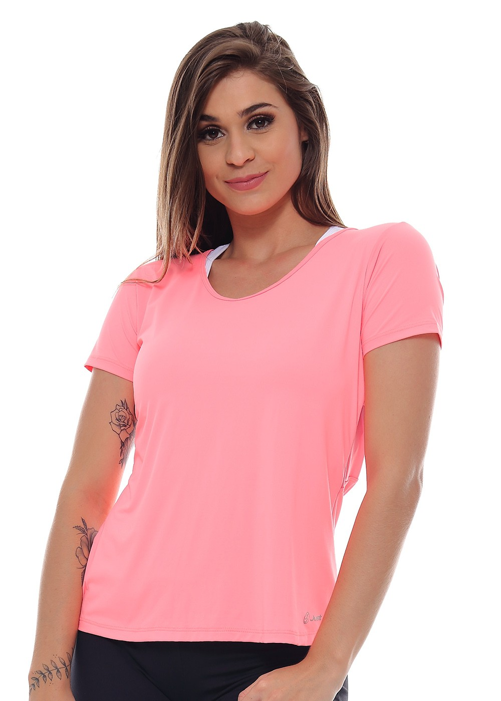 T-SHIRT ALWAYS JUST FIT - CORAL