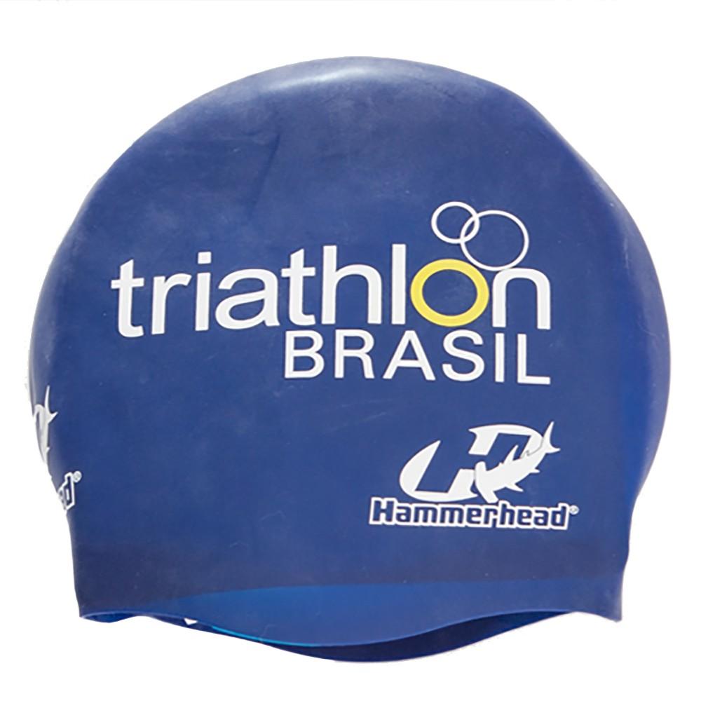 TOUCA SILICONE ESPECIAL TRIATHLON BRASIL HAMMERHEAD - MARINHO