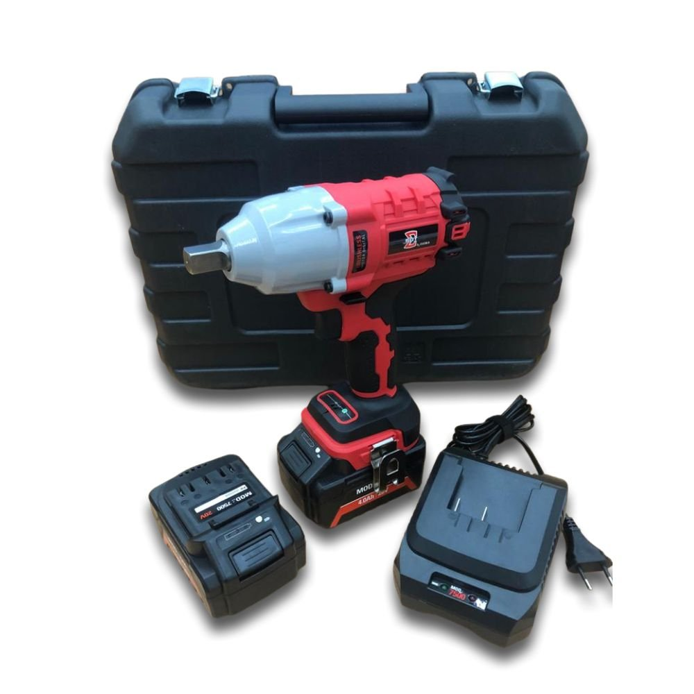 CH IMP A BATERIA 620NM - 20V/4AH LI-ON 2 BAT - BRUSHLESS - Sigma Tools