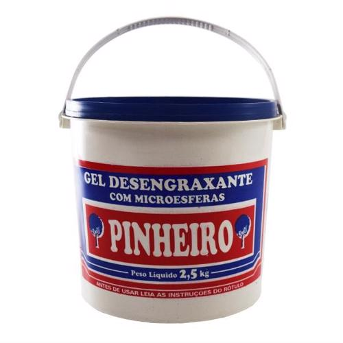 Gel Desengraxante 2,5Kg - Pinheiro