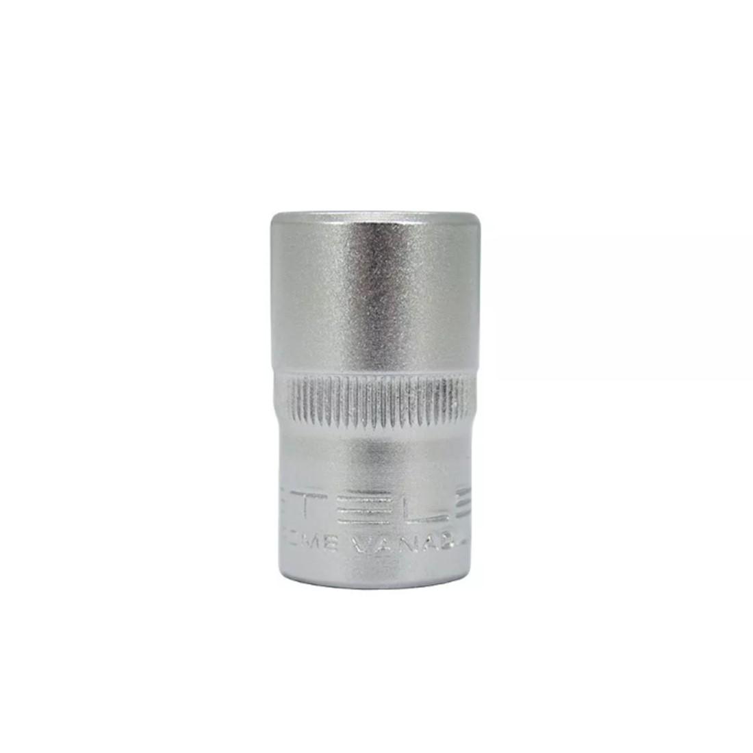 Soquete Sextavado 13mm com Encaixe de 1/2 Pol - Stels