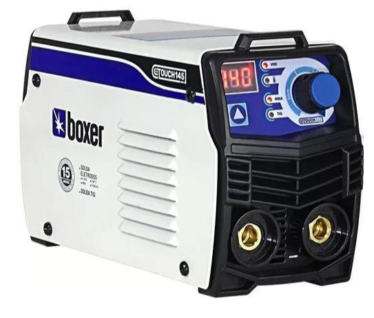 Inversora para Solda 140A 220V TOUCH145 - Boxer