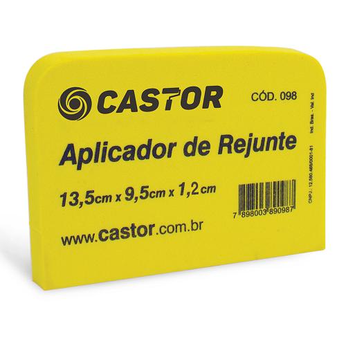 Aplicador de rejunte em EVA 13,5x9,5x1,2cm - Castor