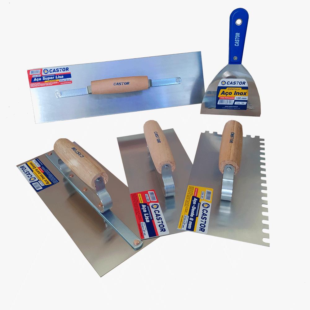 Kit Essencial Pedreiro 5 peças - Castor