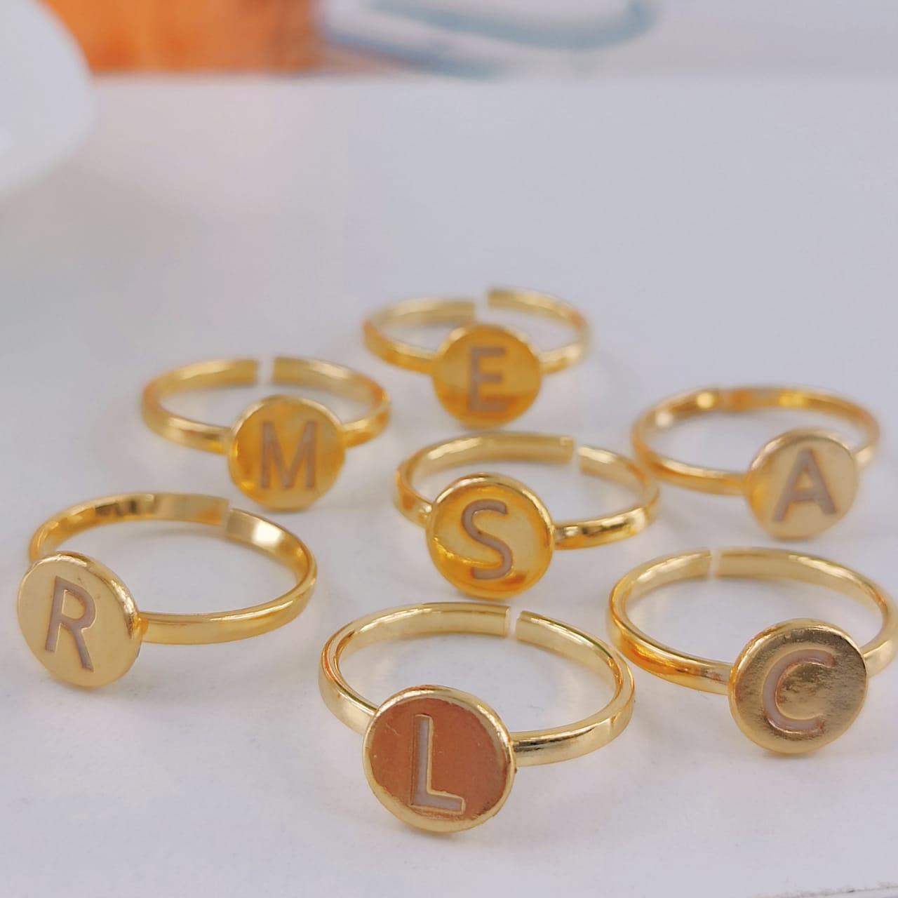 Anéis de Letras