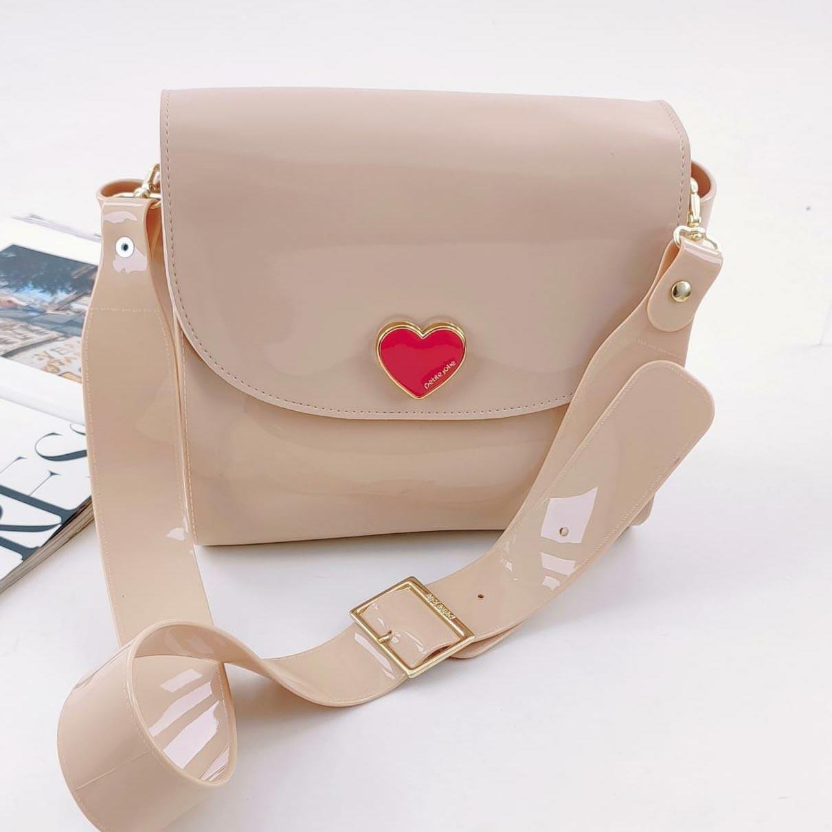 Bolsa Petite Jolie ''Love''