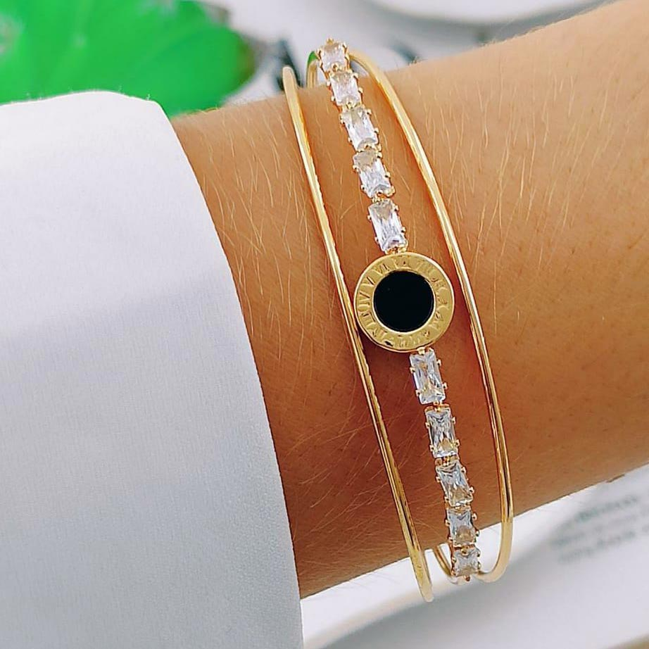 Bracelete ''Black Hole'' (Triplo)