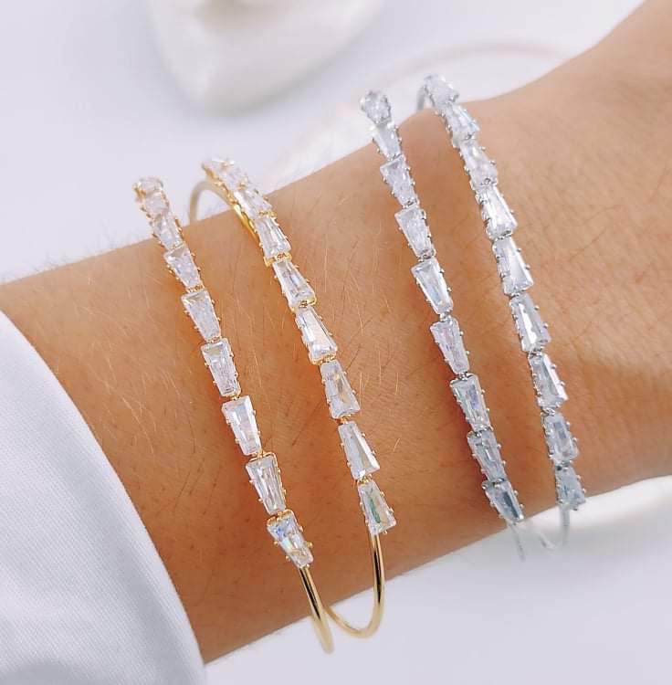 Bracelete com Strass