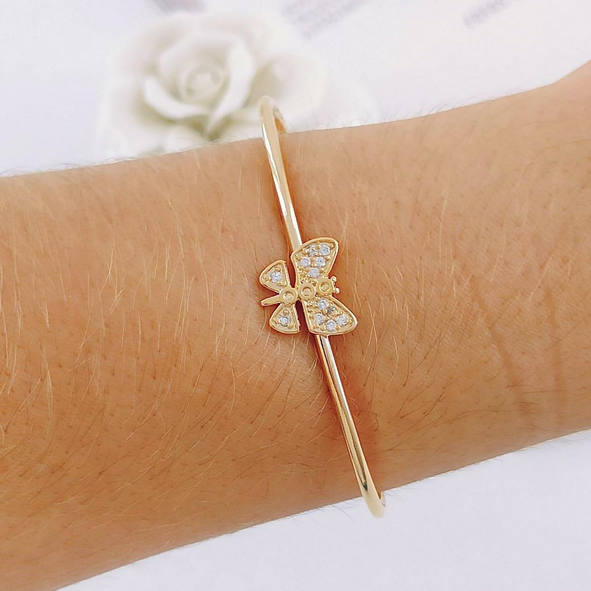 Bracelete de Borboleta