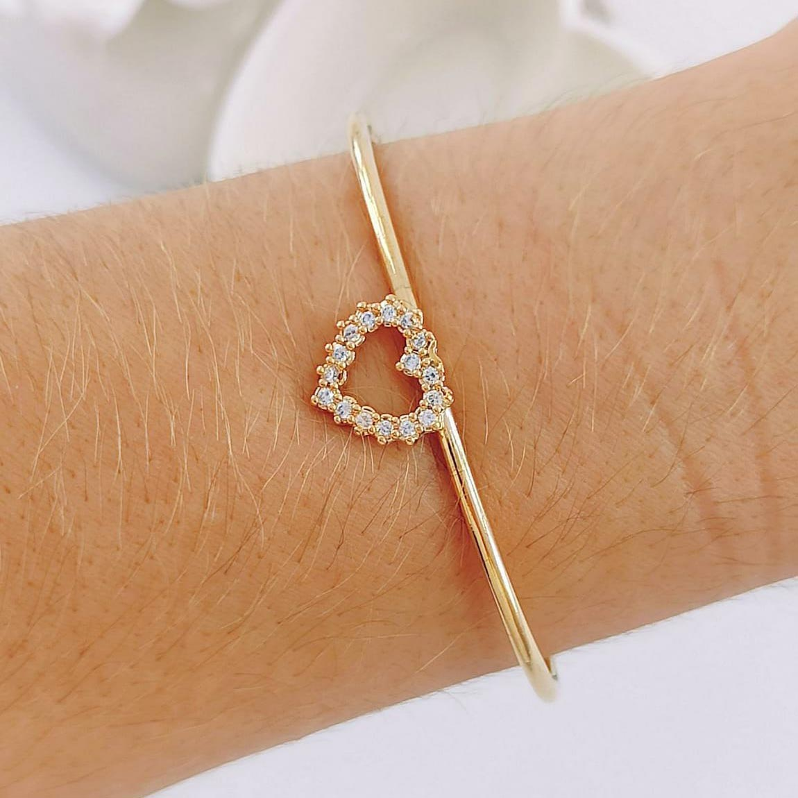 Bracelete de Coração