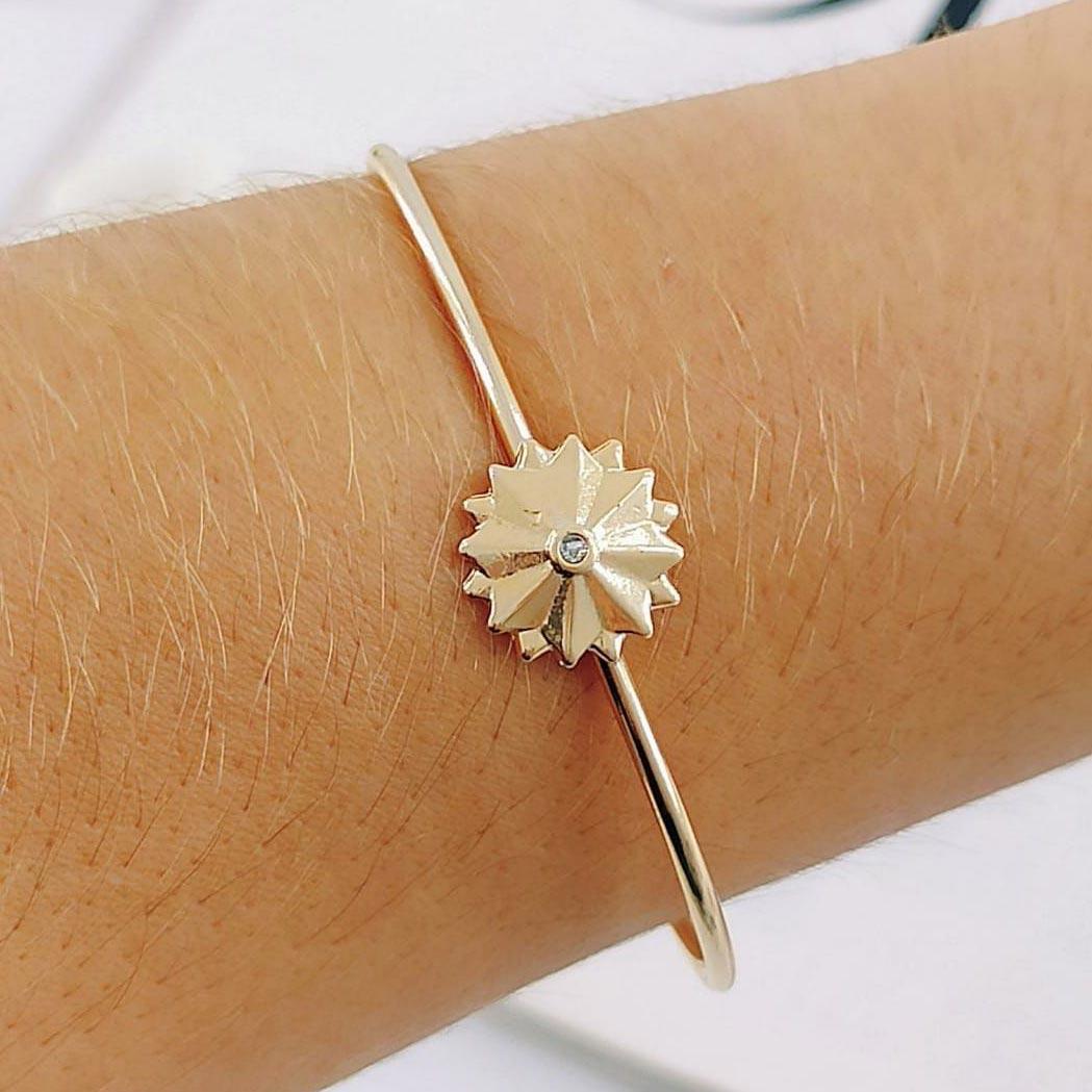 Bracelete de Flor
