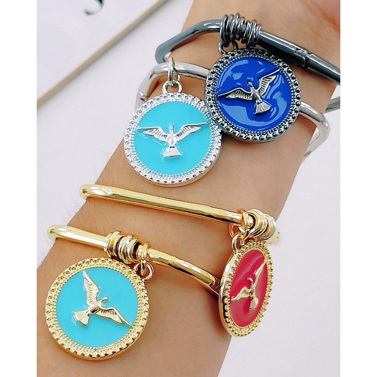 Bracelete Quadrado ''Espírito Santo''