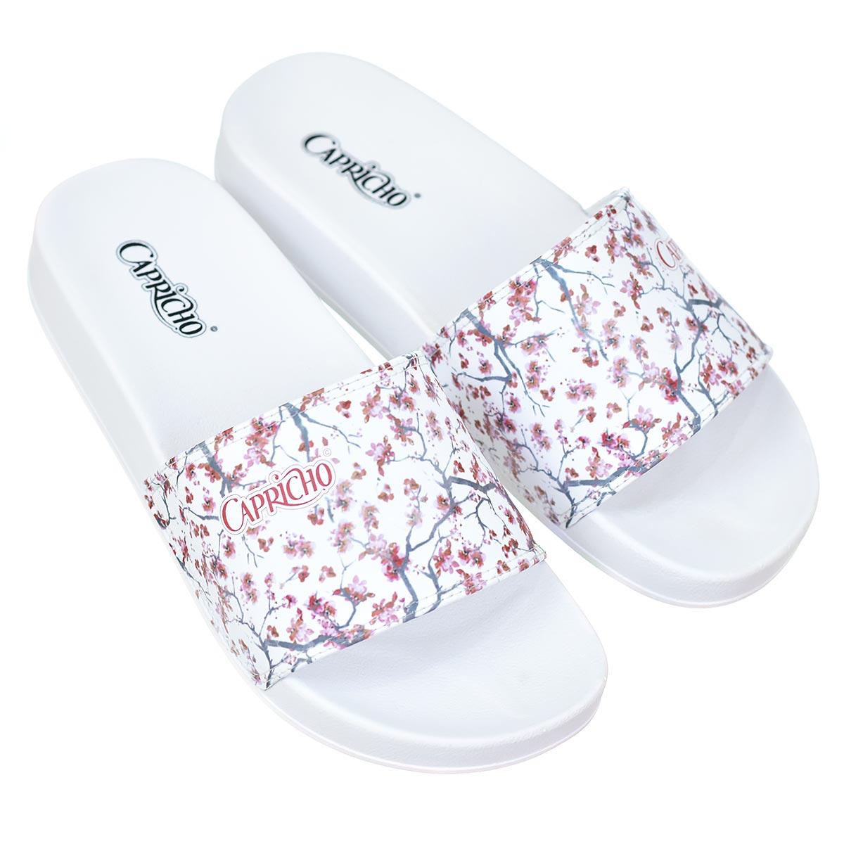 Chinelo Capricho Slide Cherry Blossom