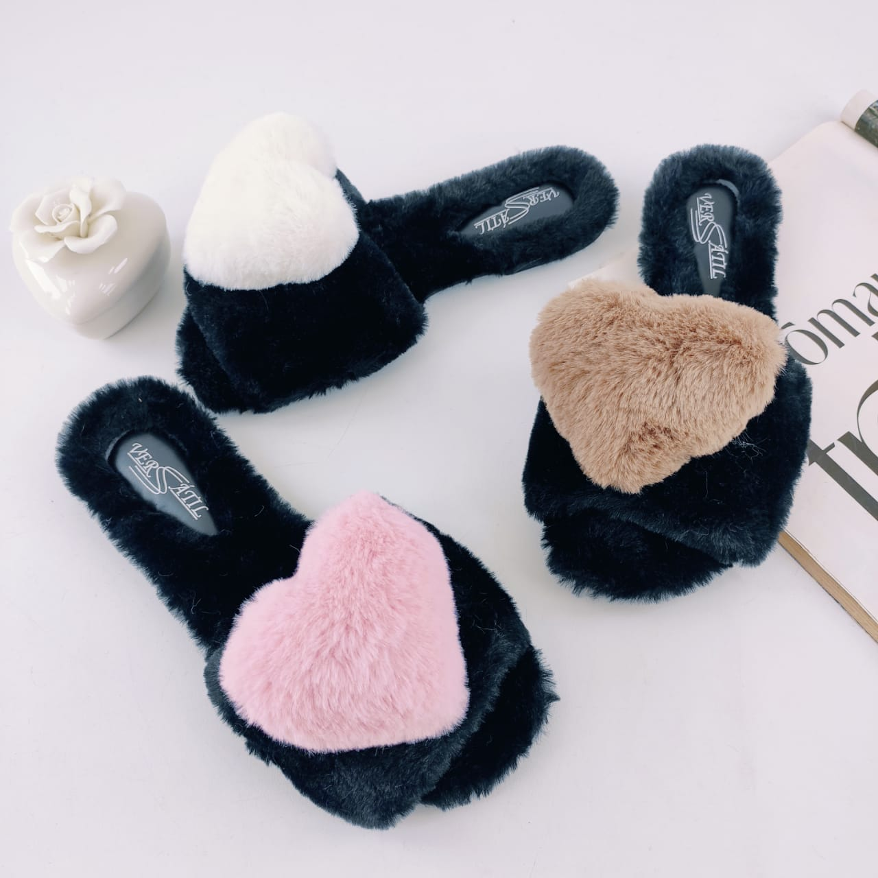 Fuzzy Slides Heart